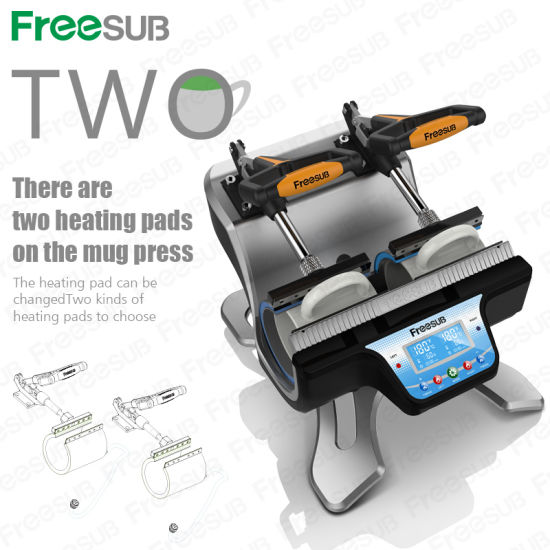 Double Station Automatic Mug Press Printing Machine ST-210
