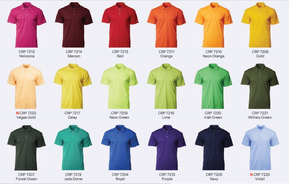 cheap no MOQ drifit polo printing in Singapore