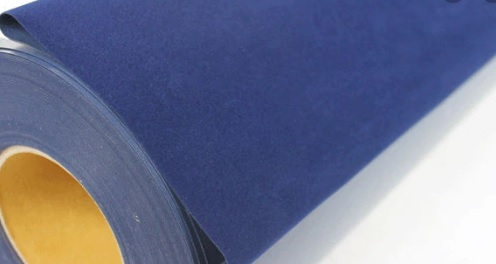 Flock Fabric Material Heat Transfer Vinyl Film (South Korea)
