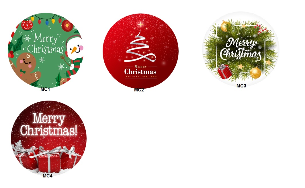 merry christmas gift series keychain pin button badges design